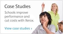 Xerox in schools advert